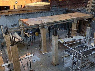 Basement Building Progress