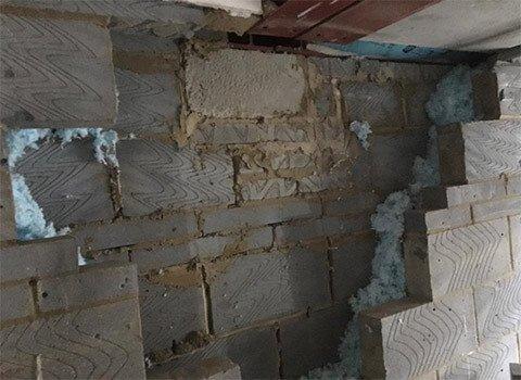 Brickwork Before Repair