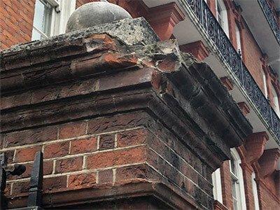 Royal Geographical Society Damage Stone
