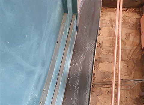 Door Frame Timber Resin Repair
