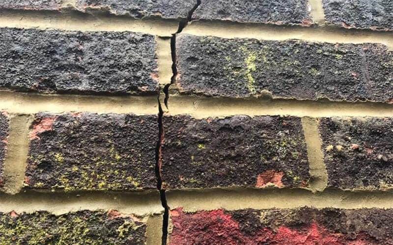 Garden Wall Crack
