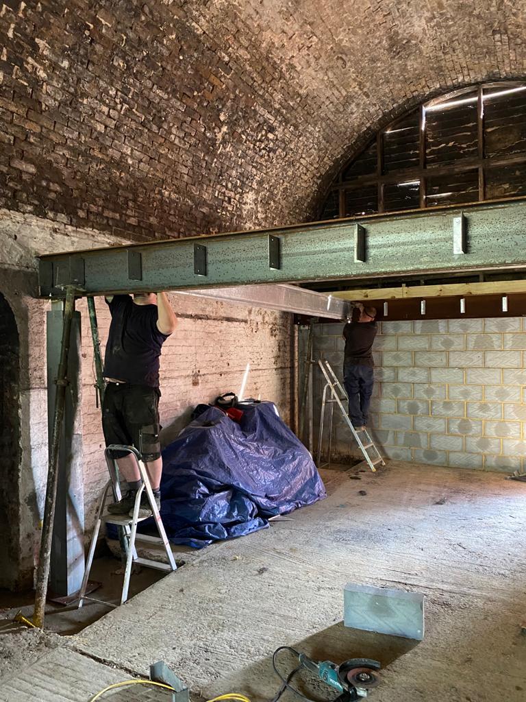 Office Arch Restoration 4