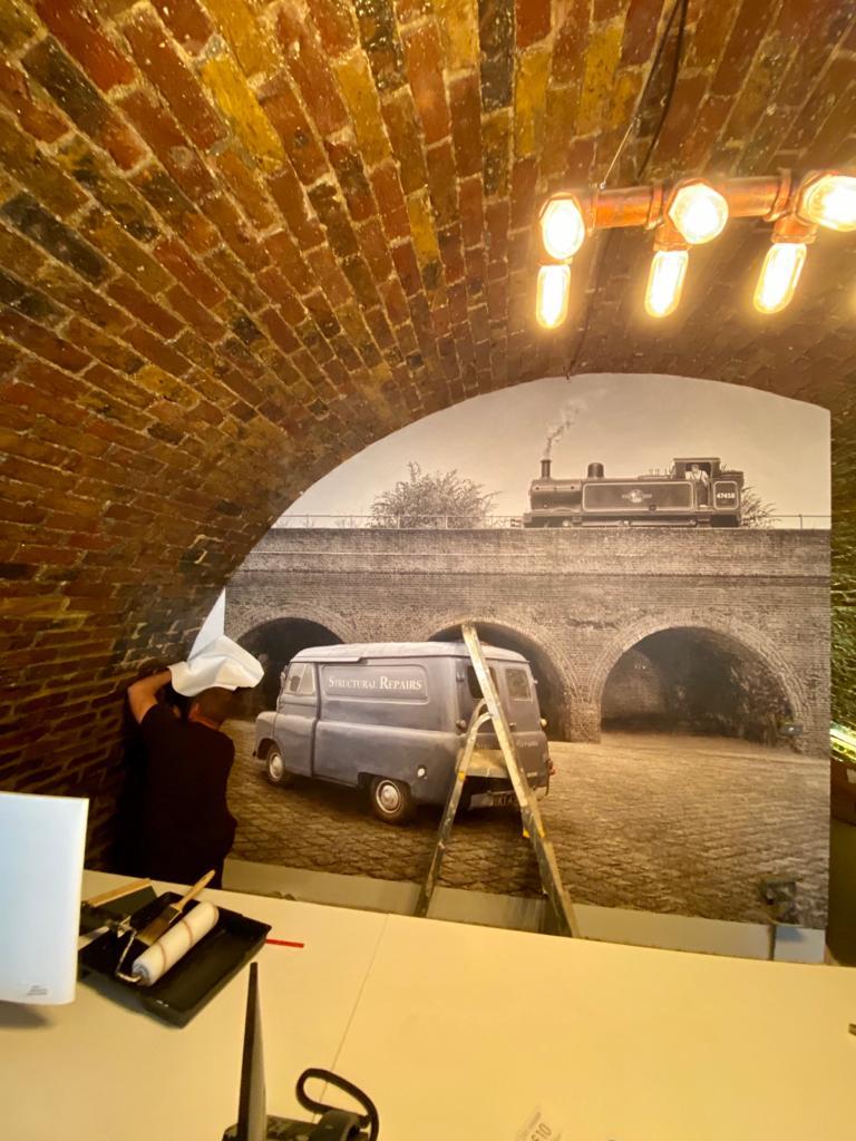 Office Arch Restoration 7