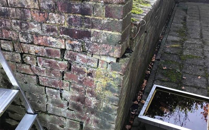 Retaining Wall Failure Esher