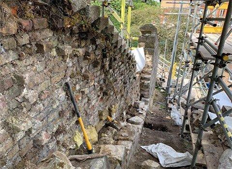 Windsor Retaining Wall Failure
