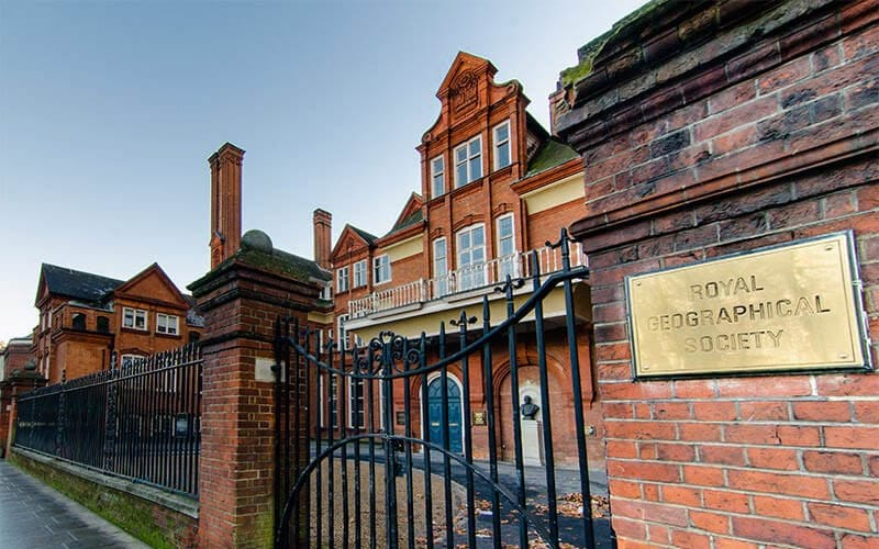 Royal Geographical Society London