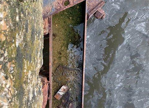 Seawall Damage