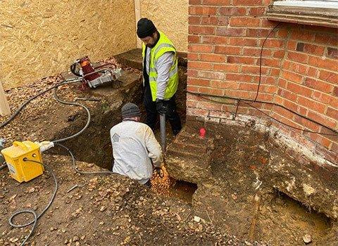 Subsidence Repair Workers