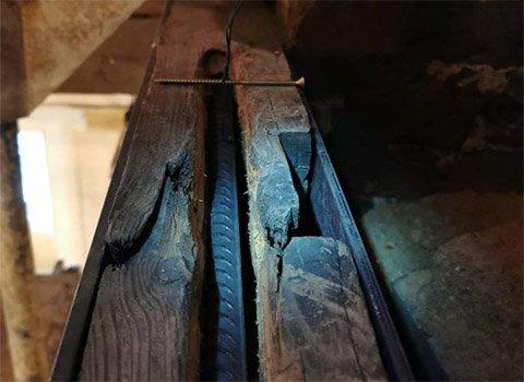 Timber Beam Bar