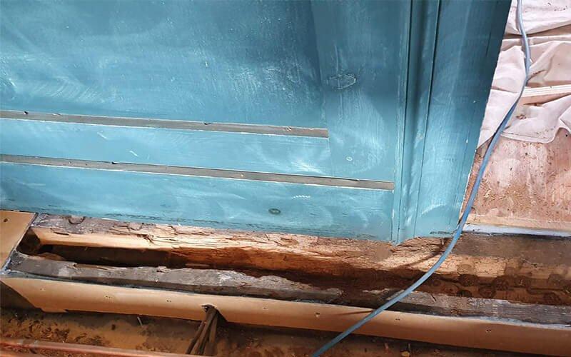 Timber Resin Repair Project London