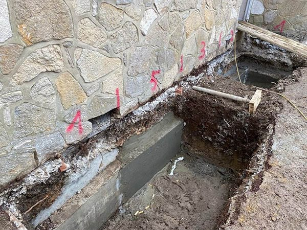 Traditional Underpinning
