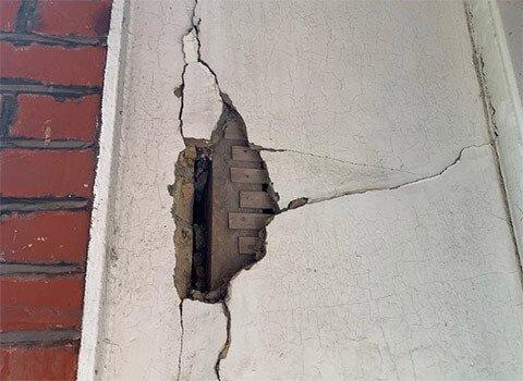 Wall Crack Interior